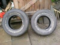 255/70R15 Cooper Discover H/T, 4x4 Tires x2, Bargain -£20 for the pair - Contact 07763119188
