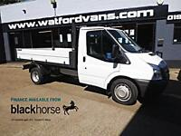 2014 Ford Transit T350 2.4TDCi 125ps Alloy Body One Stop Tipper E/W Diesel white