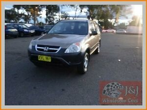 2002 Honda CR-V MY02 (4x4) Gold 4 Speed Automatic Wagon Warwick Farm Liverpool Area Preview