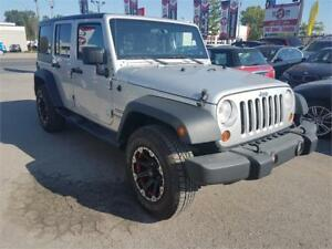 2012 Jeep Wrangler Unlimited Sport, 8 PNEU,2 TOIT, 4X4,BI-ENERGY