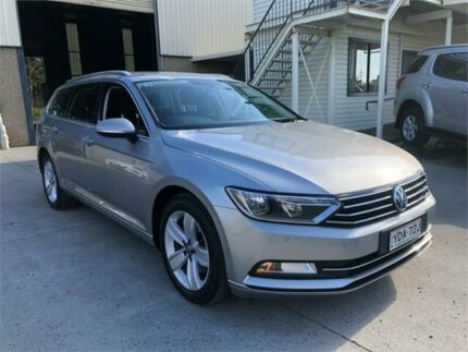 2016 Volkswagen Passat 3C (B8) MY16 132TSI DSG Silver 7 Speed Sports Automatic Dual Clutch Wagon Greystanes Parramatta Area Preview