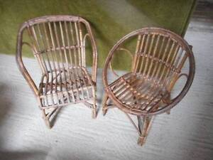 2 old childrens cane chairs Uralla Uralla Area Preview