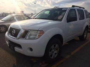 2008 NISSAN PATHFINDER LE 4X4, ALLOYS, 7 PASSENGER, ROOF RACK!!