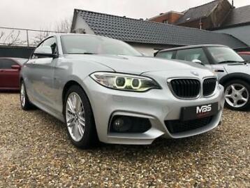 bmw 218 coupe d * pack m * xenon * cuir * radar ar * 1er p