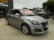 2014 Suzuki Swift FZ MY14 Sport Silver 7 Speed Constant Variable Hatchback Bayswater North Maroondah Area Preview