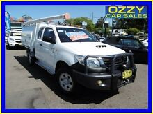 2011 Toyota Hilux KUN26R MY11 Upgrade SR (4x4) White 5 Speed Manual Extracab Penrith Penrith Area Preview