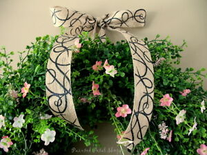 Boxwood & Wildflower Wreath/ Spring/Summer/Wedding Wreath Belleville Belleville Area image 2