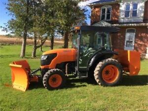 GOING TO AUCTION OCT 21,2017  2008 Kubota 4X4 Compact Tractor