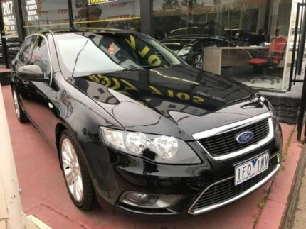 2010 Ford Falcon FG G6 Limited Edition Black 5 Speed Sports Automatic Sedan Maidstone Maribyrnong Area Preview
