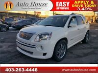 2012 GMC ACADIA DENALI NAVIGATION BACKUP CAMERA 90DAYNOPAYMENTS