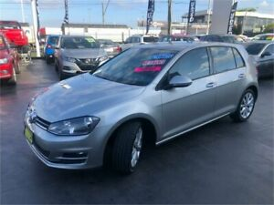 2014 Volkswagen Golf VII MY14 103TSI Highline Silver Sports Automatic Dual Clutch Hatchback Lansvale Liverpool Area Preview
