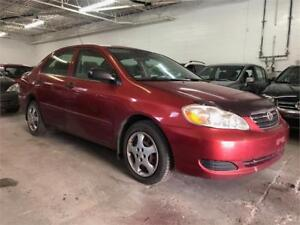 2005 TOYOTA COROLLA (4 CYLINDRES)/AUTOMATIQUE/AIR CLIMATISER