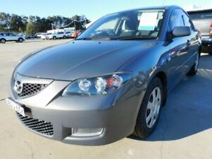 2007 Mazda 3 BK10F2 Neo Grey 5 Speed Manual Sedan Maryville Newcastle Area Preview