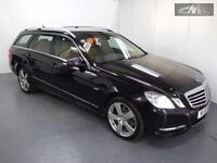 MERCEDES E CLASS E250 CDI BLUEEFFICIENCY AVANTGARDE ESTATE, Black, Auto, Diesel,