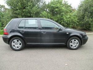 2004 Volkswagen Golf 2.0 Generation Black 4 Speed Automatic Hatchback Hoppers Crossing Wyndham Area Preview