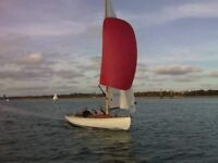 XOD - Classic Sailing Boat - 1937 Racing / Cruising - Trailer included