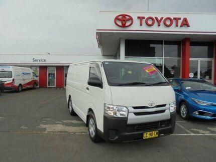 2015 Toyota Hiace KDH201R MY14 LWB French Vanilla 4 Speed Automatic Van