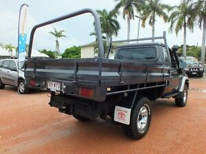 2008 Toyota Landcruiser VDJ79R GX Graphite 5 Speed Manual Cab Chassis Rosslea Townsville City Preview