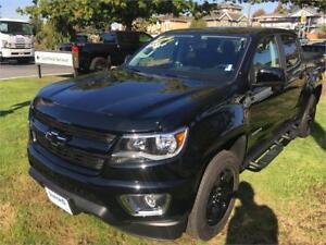 NEW 2017 Chevrolet Colorado 4WD LT BLACK Midnight edition