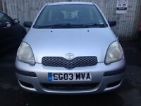 Toyota Yaris 1.0 2003 Quick Sale Wanted