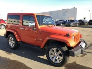 2015 Jeep Wrangler Sahara Sport 4 x 4- Hard/Soft Top, Navigation