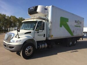 2018 International 4400 SBA 6X4, Used Reefer Van