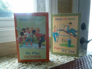 Hardcover Dick and Jane Readers NEW and 1 used