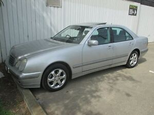 2001 Mercedes-Benz E240 W210 MY01 Elegance Silver 5 Speed Sports Automatic Sedan Tottenham Maribyrnong Area Preview