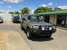 2006 Nissan Patrol GU11 DX Gold 5 Speed Manual Cab Chassis Berserker Rockhampton City Preview