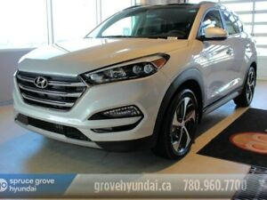 2018 Hyundai Tucson 1.6T ULTIMATE AWD-Blindspot monitoring-Lane