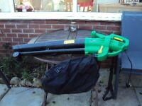Kingfisher garden vac and blower used once boxed