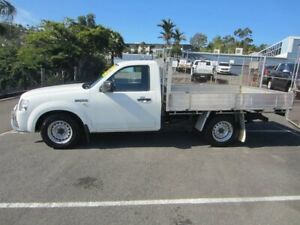 2008 Ford Ranger PJ XL 4x2 White 5 Speed Manual Cab Chassis Maroochydore Maroochydore Area Preview