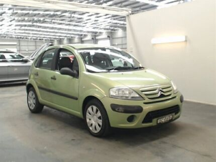 2007 Citroen C3 MY06 SX Green 5 Speed Manual Hatchback