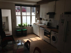two rooms for one person in a newly built townhouse with garden & all mod cons