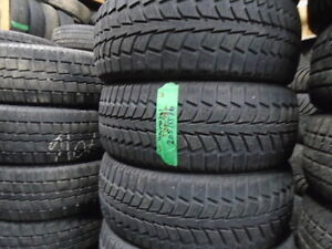 FOUR USED WINTER 205-55-16 { UNIROYAL } R.H AUTO