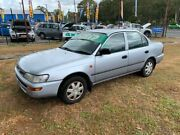 1999 Toyota Corolla AE101R CSi Silver 5 Speed Manual Sedan Clontarf Redcliffe Area Preview