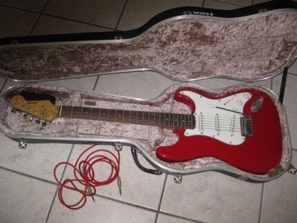 Onyx electric guitar
