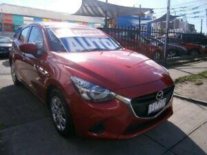 2015 Mazda 2 DJ MY16 Neo Soul Red Crystal 6 Speed Automatic Hatchback Preston Darebin Area Preview