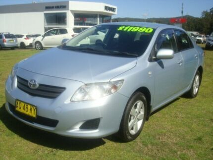 2007 Toyota Corolla ZRE152R Ascent Light Blue 6 Speed Manual Sedan Wyoming Gosford Area Preview
