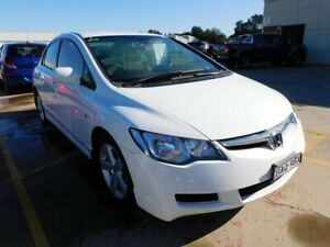 2007 Honda Civic 8th Gen MY07 VTi White 5 Speed Manual Sedan Maryville Newcastle Area Preview