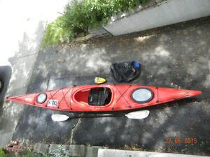 15', Day Touring Kayak Perception