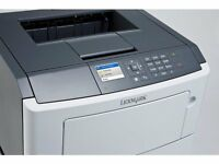 LEXMARK MS510DN MONO LASER PRINTER UNUSED IN BOX WITH 6000 page STARTER CARTRIDGE. LEXMARK RRP £449