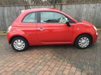 Fiat 500 Pop Red 2015 Low Mileage