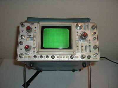 Tektronix 466 Storage Oscilloscope 100mhz 2 Channel