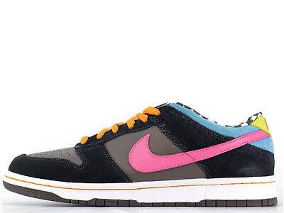 2007 Nike Air Dunk Low Pro SB SZ 9 720 Degrees Arcade Skate or Die 304292-062 ()