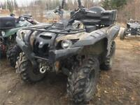 JUST IN ! 2008 YAMAHA GRIZZLY 700 2 UP SEAT Timmins Ontario Preview