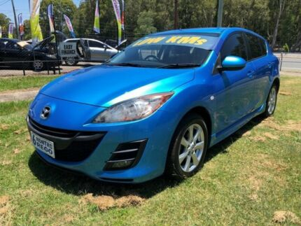 2010 Mazda 3 BL 10 Upgrade Maxx Blue 6 Speed Manual Hatchback Clontarf Redcliffe Area Preview