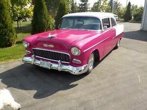 55 Chev  2Door Post