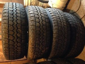 Tires and Rims: 245/70R16