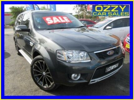 2010 Ford Territory SY Mkii Ghia (4x4) Grey 6 Speed Auto Seq Sportshift Wagon Minto Campbelltown Area Preview